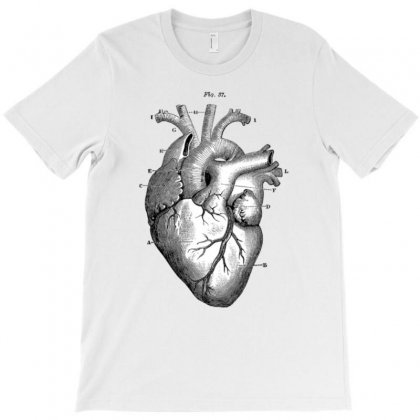 Anatomically Correct Heart T-shirt Designed By Artrend-paul