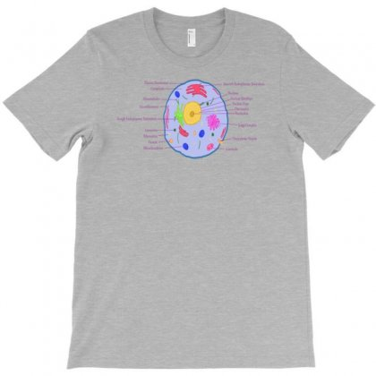Animal Cell T-shirt Designed By Artrend-paul