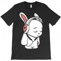 love music cartoon bunny T-Shirt | Artistshot