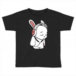 love music cartoon bunny Toddler T-shirt | Artistshot