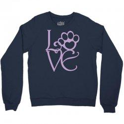 love paw Crewneck Sweatshirt | Artistshot