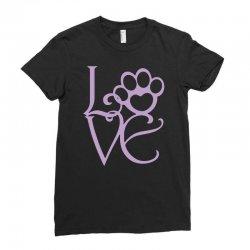 love paw Ladies Fitted T-Shirt | Artistshot