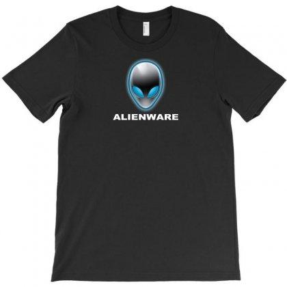 Alienware Logo Gaming Pc T-shirt Designed By Mdk Art