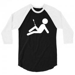 arrow to the knee skyrim video gaming geek elder scrolls 3/4 Sleeve Shirt | Artistshot