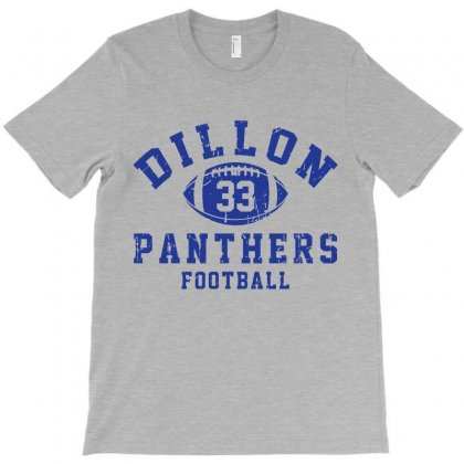 Dillon Panthers Football T-shirt Designed By Tridestia | Artistshot