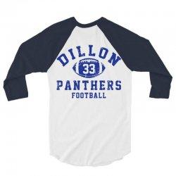 DILLON PANTHERS FOOTBALL 3/4 Sleeve Shirt | Artistshot
