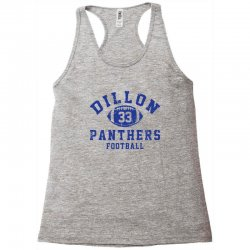 DILLON PANTHERS FOOTBALL Racerback Tank | Artistshot