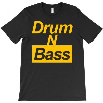 Drum N Bass Birthday Music T-shirt Designed By Mdk Art