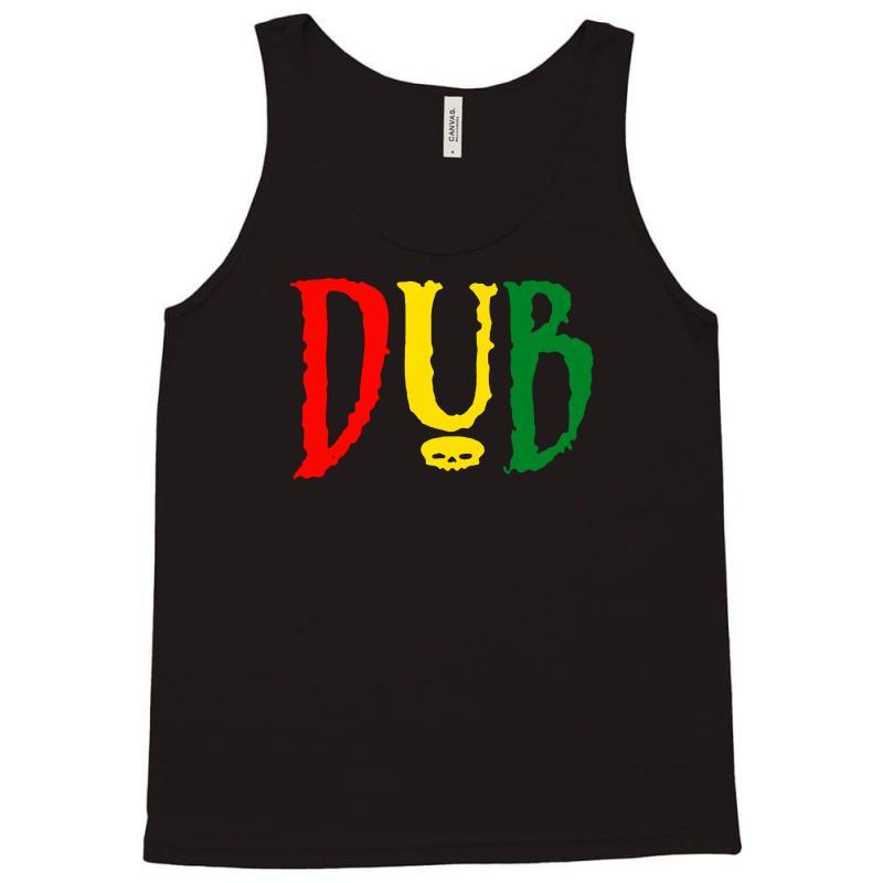 52f06cb5d594dc Custom Dub Reggae Club Step Music Rasta Cool Retro Tank Top By Mdk ...