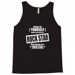 funny rock star Tank Top | Artistshot