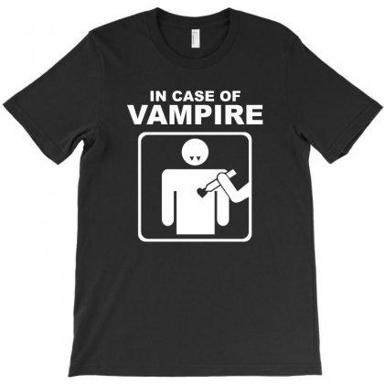 Funny Vampire T-shirt Designed By Mdk Art