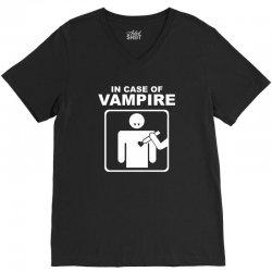 funny vampire V-Neck Tee | Artistshot