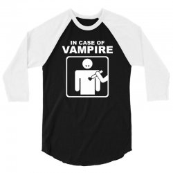 funny vampire 3/4 Sleeve Shirt | Artistshot