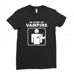 funny vampire Ladies Fitted T-Shirt | Artistshot