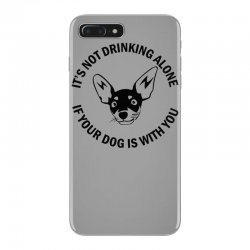 funny drinking dog iPhone 7 Plus Case | Artistshot