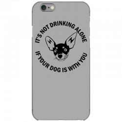 funny drinking dog iPhone 6/6s Case | Artistshot