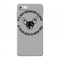 funny drinking dog iPhone 7 Case | Artistshot