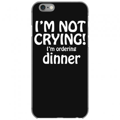 I'm Not Crying Iphone 6/6s Case Designed By Gematees