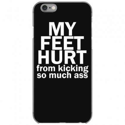 My Feet Hurt Iphone 6/6s Case Designed By Gematees