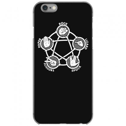 Rock Paper Scissors Lizard Spock Iphone 6/6s Case Designed By Gematees