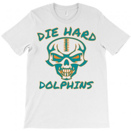 Die Hard Dolphins T-shirt Designed By Jokers