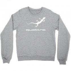 gecko audi quattro Crewneck Sweatshirt | Artistshot