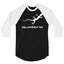 gecko audi quattro 3/4 Sleeve Shirt | Artistshot