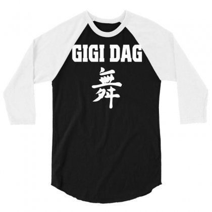 Gigi D Agostino Music Deejay Disco 3/4 Sleeve Shirt Designed By Mdk Art