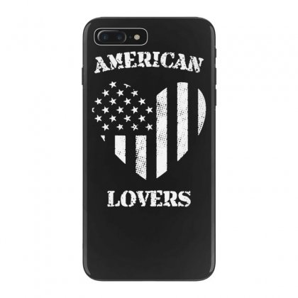 American Lovers Iphone 7 Plus Case Designed By Tonyhaddearts