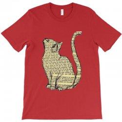 cats text T-Shirt | Artistshot