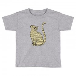 cats text Toddler T-shirt | Artistshot
