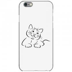 the cat simple iPhone 6/6s Case | Artistshot
