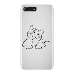 the cat simple iPhone 7 Plus Case | Artistshot