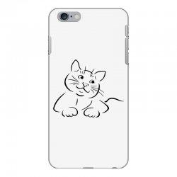the cat simple iPhone 6 Plus/6s Plus Case | Artistshot