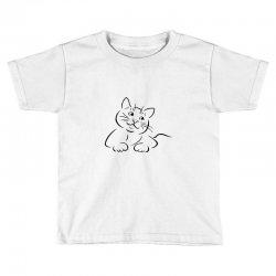 the cat simple Toddler T-shirt | Artistshot