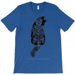 cats black T-Shirt | Artistshot