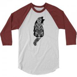 cats black 3/4 Sleeve Shirt | Artistshot