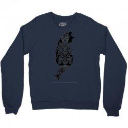 cats black Crewneck Sweatshirt | Artistshot
