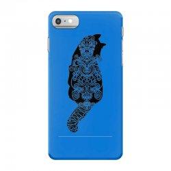 cats black iPhone 7 Case | Artistshot