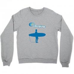 the surfing Crewneck Sweatshirt | Artistshot
