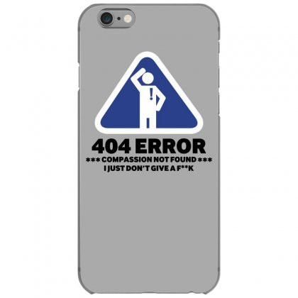404 Error Iphone 6/6s Case Designed By Gematees