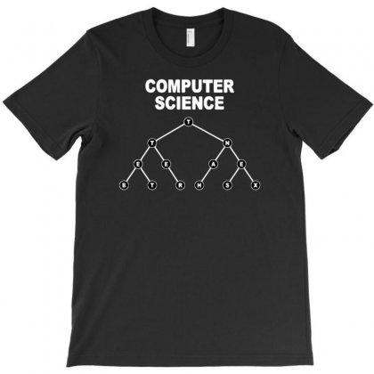Binary Search Tree T-shirt Designed By Artrend-paul