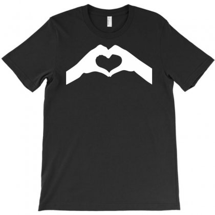 Love Hands T-shirt Designed By Mdk Art