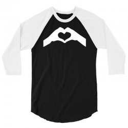 love hands 3/4 Sleeve Shirt | Artistshot