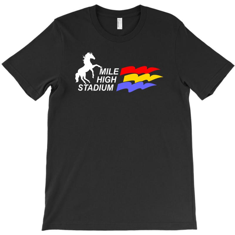 Mile High Stadium T-shirt | Artistshot