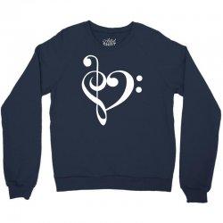music heart rock baseball Crewneck Sweatshirt   Artistshot