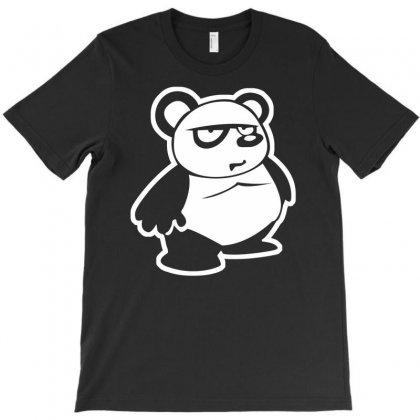 Panda Bear T-shirt Designed By Mdk Art