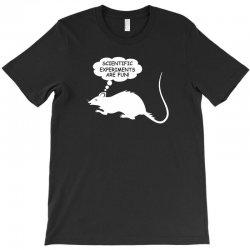 rat funny geek nerd scientific experiments are fun T-Shirt | Artistshot