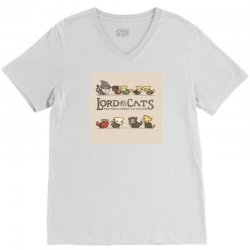 Lord Of The Cats V-Neck Tee | Artistshot