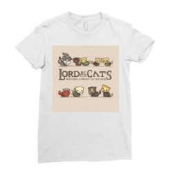 Lord Of The Cats Ladies Fitted T-Shirt | Artistshot